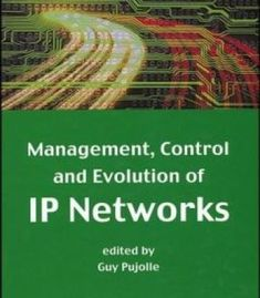 Management Control And Evolution Of Ip Networks PDF
