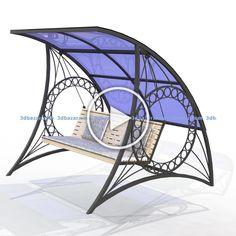 Iron Furniture, Steel Furniture, Home Decor Furniture, Garden Furniture, Furniture Design, Western Kitchen Decor, Wrought Iron Decor, Door Gate Design, Hammock Swing
