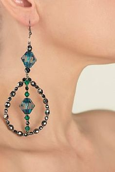 Casta Drop Earrings, My Style, Green, Life, Collection, Jewelry, Fashion, Jewels, Moda