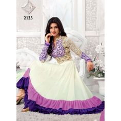 Exclusive Purple Long Designer Anarkali Suits