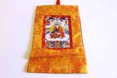 Small Guru Rinpoche Thangka