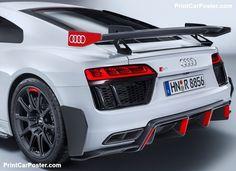 Audi R8 performance parts 2017 poster, #poster, #mousepad, #tshirt, #printcarposter