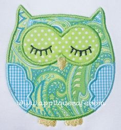 applique design for machine embroidery