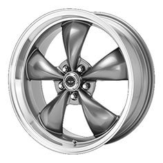 "Amazon.com: American Racing Torq Thrust M Wheel with Machined Lip (17x8""/5x4.5""): Automotive"