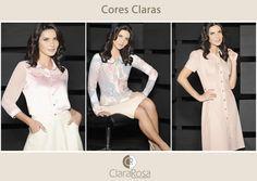 Bom dia! Neste inverno as cores claras dominaram o mundo da moda!