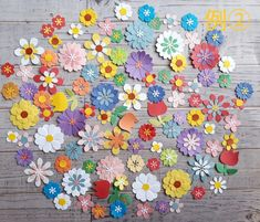 Diy Flowers, Paper Flowers, Craft Punches, Punch Art, Diy Cards, Quilling, Thank You Cards, Collage, Scrapbook