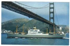 Holland America Line, Golden Gate Bridge, Boat, Ships, Travel, Steam Boats, America, Dinghy, Boats