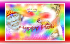 SHIRDI SAI BABA HOLI GREETING CARDS!