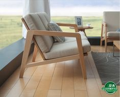 And wood furniture minimalist Scandinavian design and creative Japanese fabric of European beech wood sofa de la boutique en ligne Wood Sofa, Scandinavian Furniture, Furniture Design, Sofa Design Wood, Sofa Design, Furniture, Wooden Sofa Designs, Cool Furniture, Furniture Design Wooden