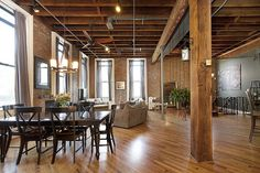 Extraordinary Jersey City Loft.  126 Webster Avenue 1A, Jersey City,  New Jersey, Represented exclusively by Matt Brown and Peter Cossio. See more eye candy on this home at http://www.halstead.com/sale/nj/jersey-city/126-webster-avenue/condo/8578372.