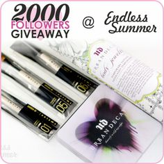 2000 Followers Giveaway, come join it.. :D
