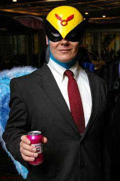 """""""Let's Get Stinko!"""" Harvey Birdman: Attorney at Law. Dragon*Con. Atlanta. 2011. Marriott Marquis Hotel: The Front Door."""