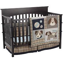 Sumersault Show Doggies 4 Piece Crib Bedding Set Ltd Babies R