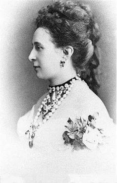 Grand Duchess Alexandra Iosifovna Romanova of Russia.Born Princess Alexandra Friederike Henriette of Saxe-Altenburg 1830-1911.Married Grand Duke Konstantin Nikolaevich Romanov of Russia.A♥W