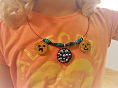 """Schön geschmückt"" Diy Recycling, Washer Necklace, Crochet Necklace, Jewelry, Fashion, Schmuck, Moda, Jewlery, Jewerly"