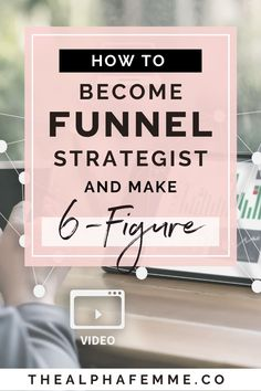 A funnel strategist is one of the highest-grossing service-based business owners because your ideal audience is a successful business who's looking to create profitable conversion funnels. And this means that this is a premium client zone that pay well.  Find out how to map out and build a 6-figure business as a funnel strategist. #salesfunnelstrategist #6figurebusiness #profitablesalesfunnel #profitablebusiness #profitableonlinebusiness Successful Business, Online Business, Closing Sales, Digital Marketing Strategist, Passive Income Streams, Drop Shipping Business, Leaving Home, Affiliate Marketing, Mindset