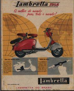 Lambretta advert 1960s mod culture style transport chic italy innocent mini…