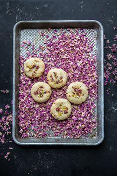 8 Ingredient Vegan Cardamom And Rose Cookies - Cook Republic #vegan #glutenfree #cookies #foodstyling #foodphotography