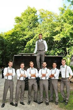 Image result for bridesmaids and groomsmen green
