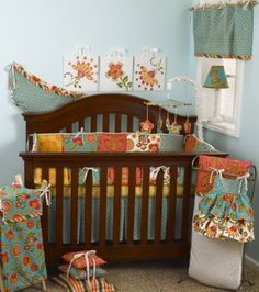 Cotton Tale Designs 8 Piece Crib Bedding Set Gypsy Baby
