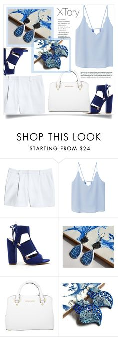 """""""XTory 8"""" by amra-mak ❤ liked on Polyvore featuring Canvas by Lands' End, MANGO, Michael Kors and XTory"""