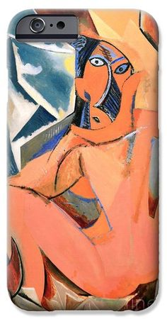 Les Demoiselles d'Avignon Picasso Detail iPhone and Samsung Case. By RicardMN Photography