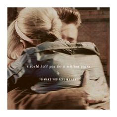The Doctor + Rose Tyler: i could hold you for a million years to make you feel my love #doctorwho