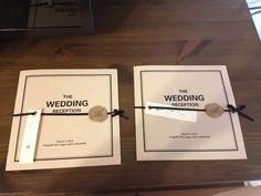 menu & profile book  petite's wedding note ~33歳ハナヨメの結婚準備ブログ~