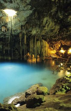 This is something you should not miss! Dzitnup Natural Well, Cancun, Mexico