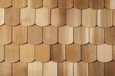 BuildDirect – Cedar Decorator Shingles – Wide-Fishscale - Multi View