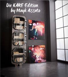 Die KARE Edition by Mayk Azzato #MaykAzzato #Azzato #KARE #KAREDesign #Art #KAREEdition