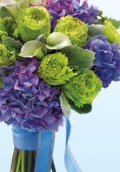 Beautiful Natural color combination  Hydrangea bouquet