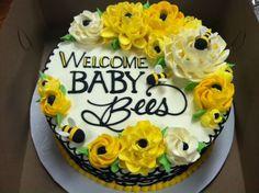 BUTTERCREAM!!! The White Flower Cake Shoppe Beautiful piped writing Buttercream Flowers, Buttercream Cake, White Flower Cake Shoppe, Cake Pictures, Cake Pics, Biscuits, Baby Shower Cakes, Baby Cakes, Floral Cake