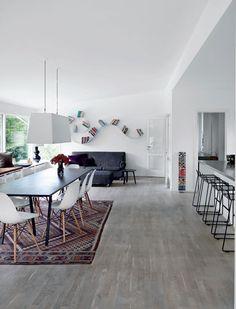 Maison décoration scandinave salon
