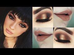Kylie Jenner Makeup Tutorial - Maquiagem Ponto de Luz Poderosa - YouTube