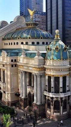 """architecturia:  """"Teatro Municipal ~ d amazing architecture design  """""""