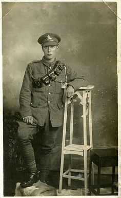 soldier of WWI.