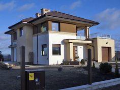 Zdjęcie z realizacji projektu Cyprys 2. Szczegóły projektu: http://www.domywstylu.pl/projekt-domu-cyprys_2.php. #realizations, #realizacje, #house plans, #projekty domów, #mtmstyl, #domywstylu, #projekty #design #style #architektura #projektygotowe