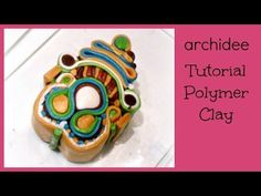 Polymer Clay Tutorial | Murrina Soutache Caleidoscope | DIY Millefiori Cane - YouTube