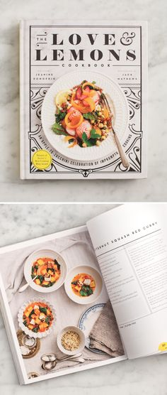 The Cookbook is OUT + Sneak Peeks! - The Love & Lemons Cookbook, more than 100 vegetarian recipes, with many vegan and gluten free options.
