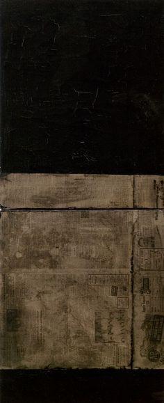 Untitled (black paintings, 1951) Robert Rauschenberg