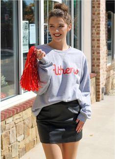 Excited to share the latest addition to my shop: Athens Georgia Sweatshirt Georgia Shirt, Athens Georgia, Leather Skirt, Unisex, Lady, Tees, Sweatshirts, Sleeves, Cotton