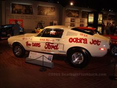 photos of gas rhondas mustang | Gas Ronda Russ Davis Ford SS/EA Cobra Jet Mustang 1968