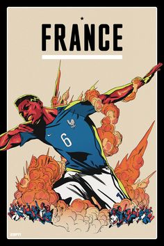 France World Cup 2018 team posters: Former winners, fan favourites, star players ready for Russia Soccer Pro, Soccer Players, Football Team, Football Posters, Funny Soccer, Soccer Memes, World Cup 2018 Teams, Fifa World Cup, World Cup