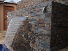 Autumn stacked stone #cladding,