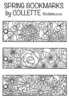 100% FREE - Three Bookmarks for you to print, colour and cut out to use. Click on image download and then choose your printer settings to print. We recommend using 250 - 300gsm card to print this on or get your bookmarks laminated for a longer life and to protect your colouring work. Enjoy