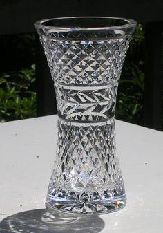 Waterford Crystal Flower Vase Glandore Pattern by LivingVintage, $145.00