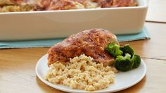Easy Chicken With Rice Recipe . You can make a big deal out of chicken with rice -- at its zenith, it becomes paella -- but it is a dish that takes well to Eat More Chicken, Easy Chicken And Rice, Chicken Rice, Chicken Legs, Chicken Salad, Rice Casserole, Casserole Recipes, Chicken Casserole, Rice Recipes