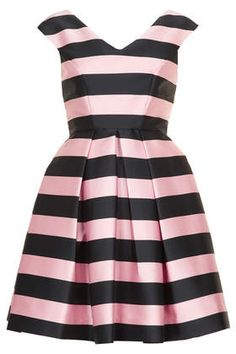 Topshop, Stripe Prom Dress, £80