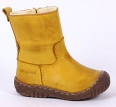 gefütterte, halbhohe Stiefel von Bisgaard 61002